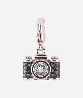 KARL LAGERFELD SILVER CAMERA CHARM