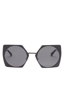 Marni Black MARNI DISQUE sunglasses Woman
