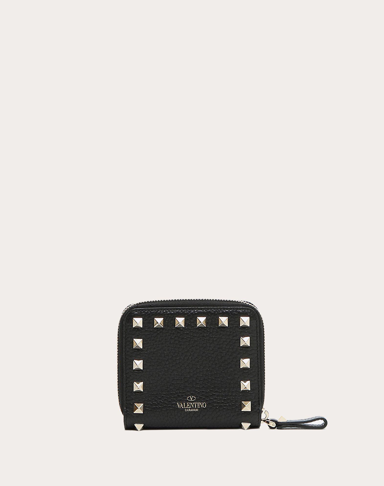 VALENTINO GARAVANI Rockstud Compact Wallet COMPACT WALLETS D d