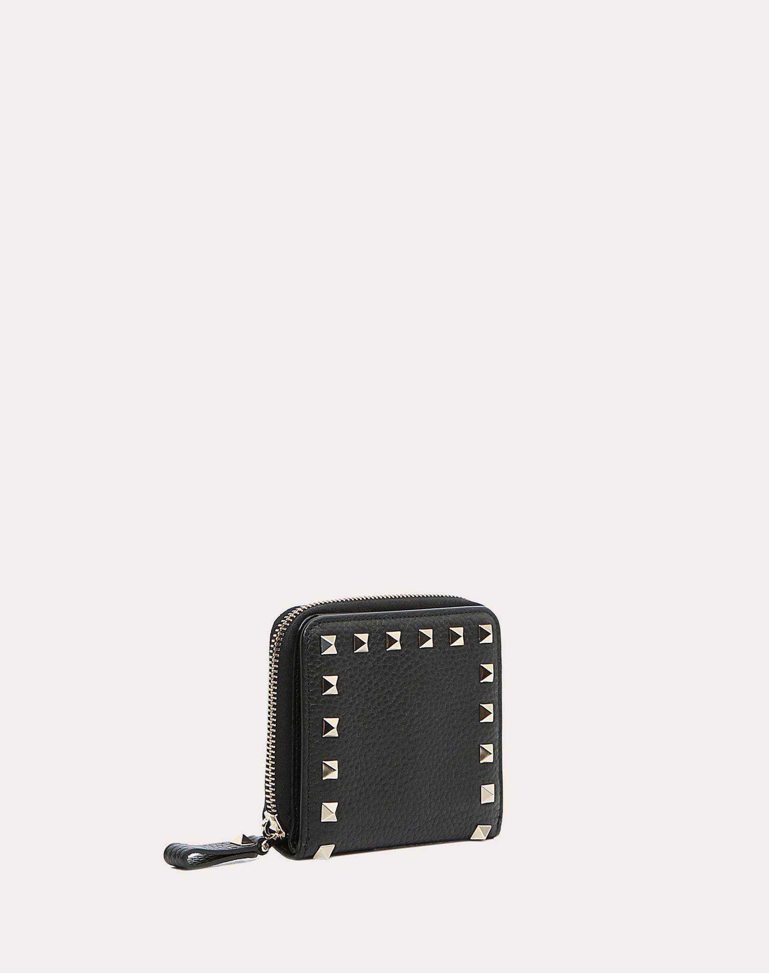 VALENTINO GARAVANI Rockstud Compact Wallet COMPACT WALLETS D r