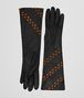 BOTTEGA VENETA NERO NAPPA GLOVE Scarf or other Woman fp