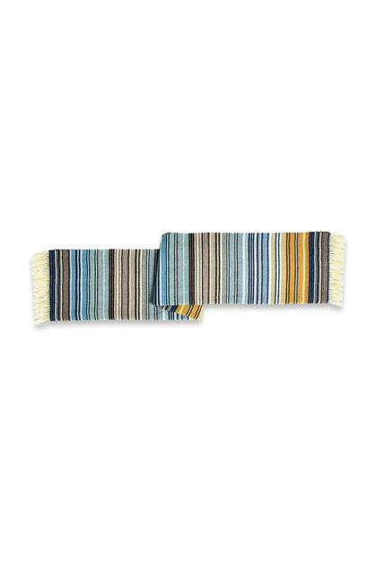 MISSONI HOME TAZIO PLAID Bleu E - Devant