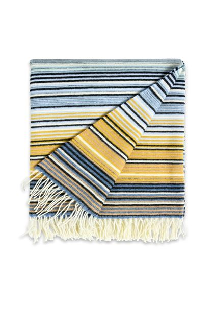 MISSONI HOME TAZIO THROW Blue E - Back