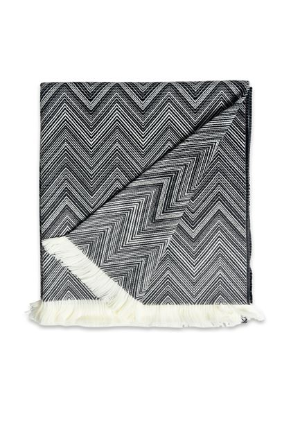 MISSONI HOME TIMMY THROW Black E - Back