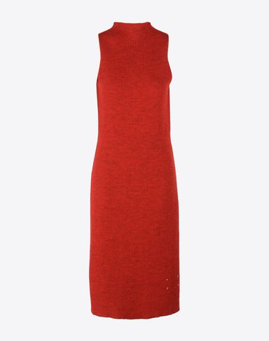 MAISON MARGIELA Stole D Wool apron dress f