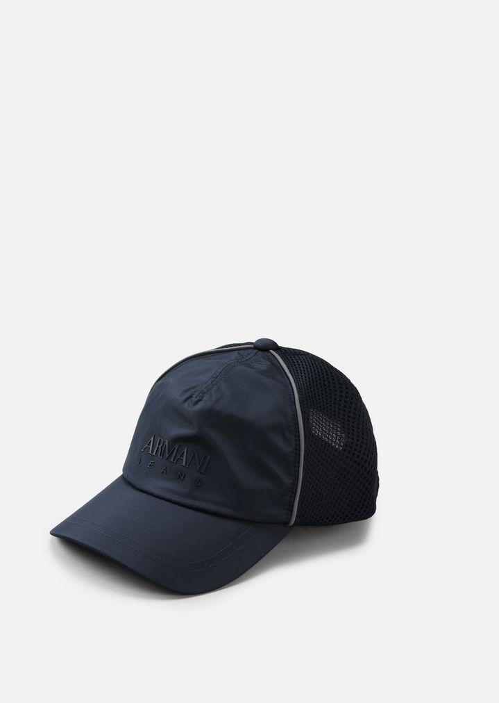 seleziona per originale negozio ufficiale nuovo massimo CAPPELLO CON VISIERA CON LOGO | Uomo | Emporio Armani