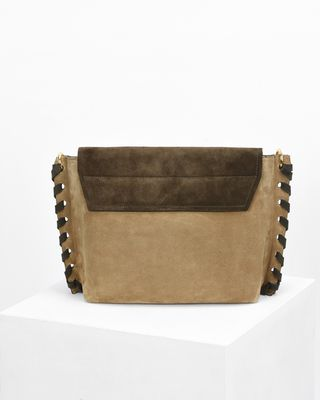 ISABEL MARANT BAG Woman ASLI two colour bag e