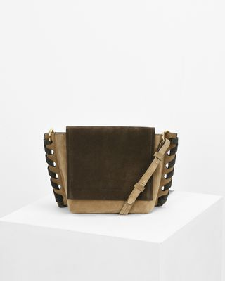 KLENY small suede bag