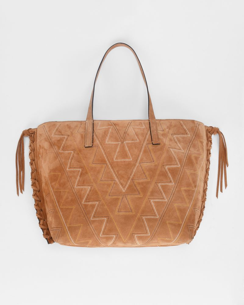 OTEHIS embroidered zipped shopper bag ISABEL MARANT