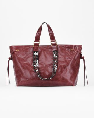 ISABEL MARANT BAG Woman BAGYA medium leather shopper bag e