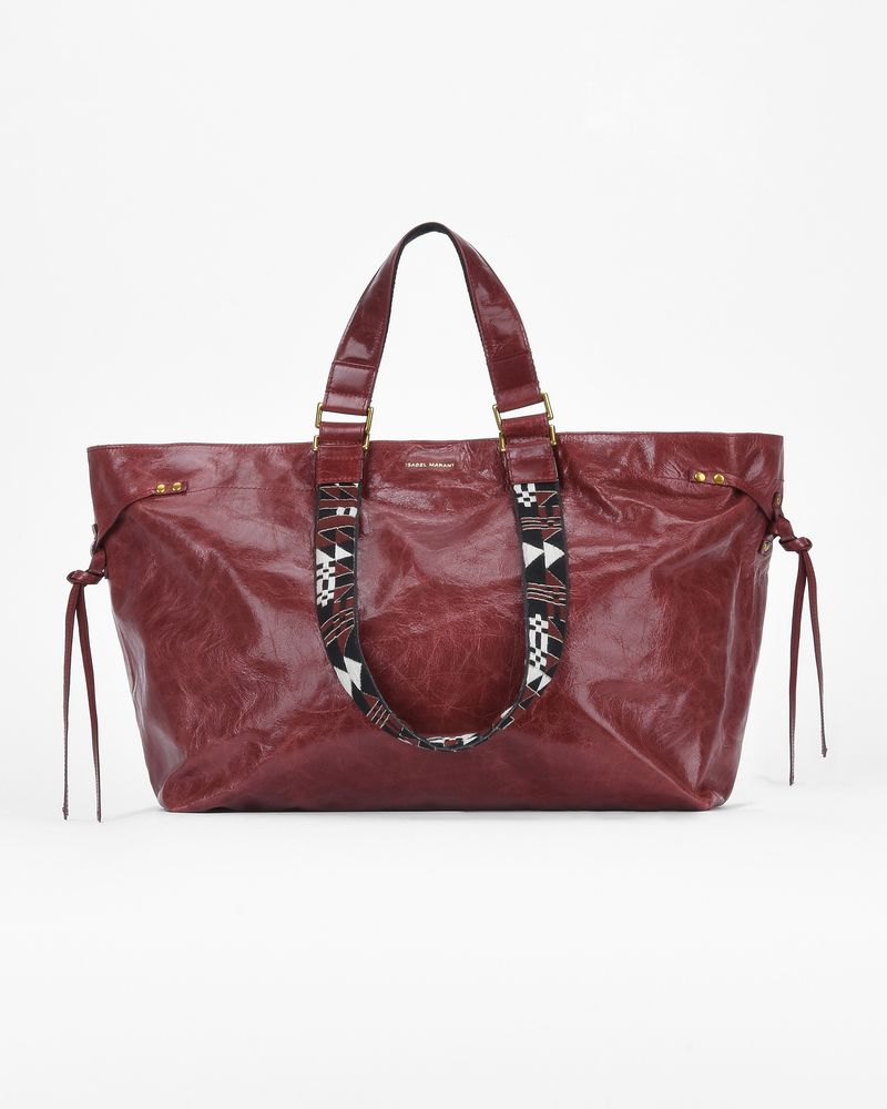 BAGYA medium leather shopper bag ISABEL MARANT