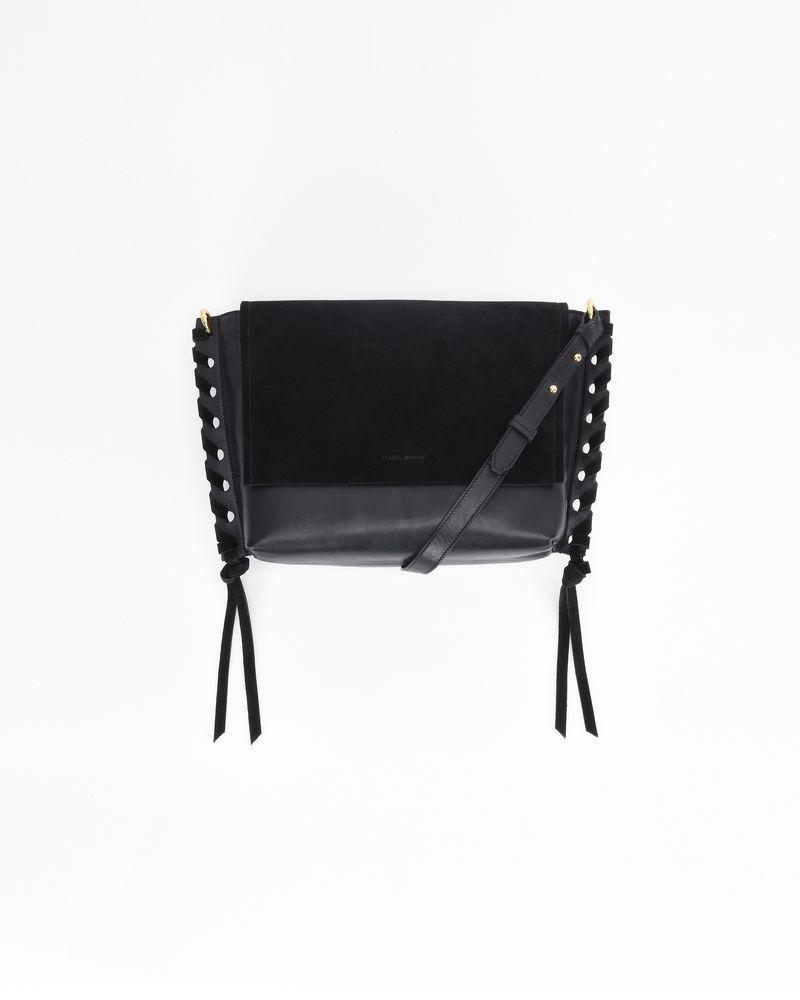 ASLI dual material bag ISABEL MARANT