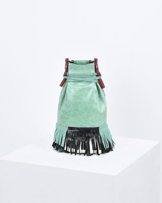 ISABEL MARANT BAG Woman ASKIAH fringed bag e
