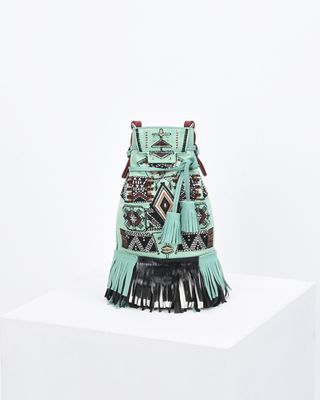 ASKIAH fringed bag