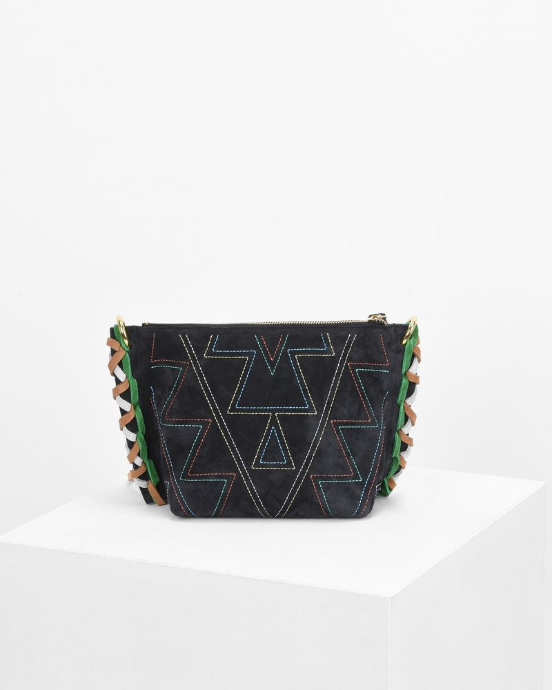 FANGOH small embroidered suede bag ISABEL MARANT