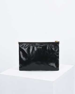 ISABEL MARANT BAG Woman NESSAH leather clutch bag e