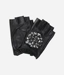 KARL LAGERFELD K/Geo Stone Fingerless Gloves 8_f