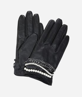 KARL LAGERFELD K/CHAIN GLOVES