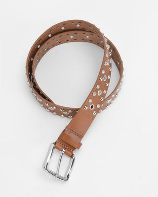 ISABEL MARANT BELT Woman RICA studded belt r