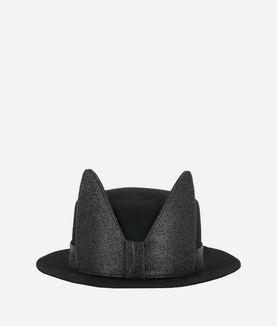 KARL LAGERFELD K/SMALL BRIM HAT