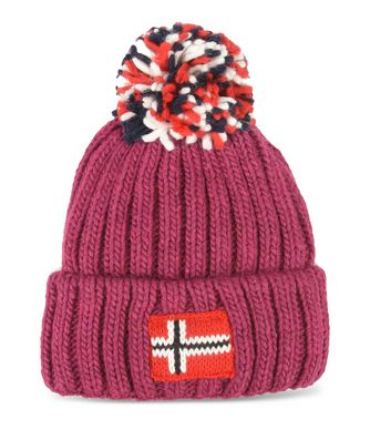 NAPAPIJRI K SEMIURY JUNIOR KINDER BEANIE,PURPUR