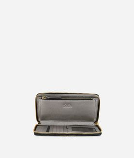KARL LAGERFELD K/KLASSIK ZIP AROUND WALLET