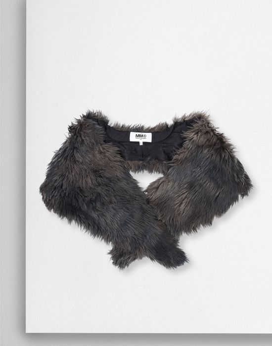 MM6 MAISON MARGIELA Multicolour faux fur scarf  Scarf [*** pickupInStoreShipping_info ***] f