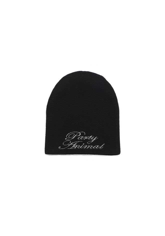 ALEXANDER WANG accessories 'PARTY ANIMAL' BEANIE