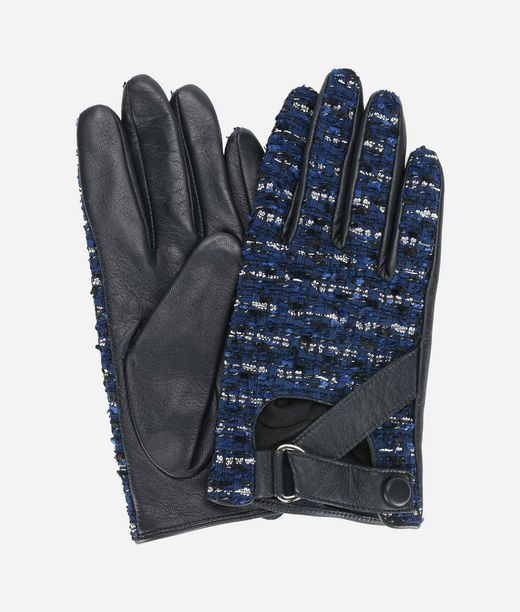KARL LAGERFELD K/Tweed Gloves 12_f