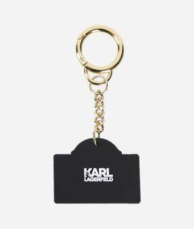 KARL LAGERFELD RUE LAGERFELD KEYCHAIN