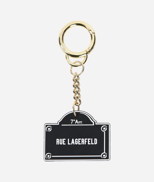 KARL LAGERFELD Rue Lagerfeld Keychain 12_f