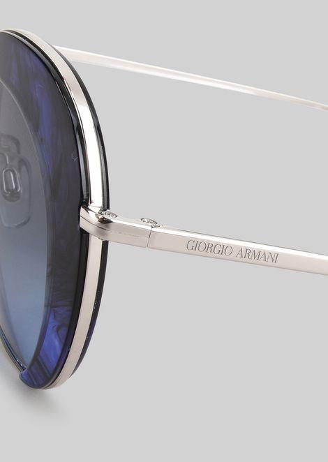 Sunglasses with degradé detail