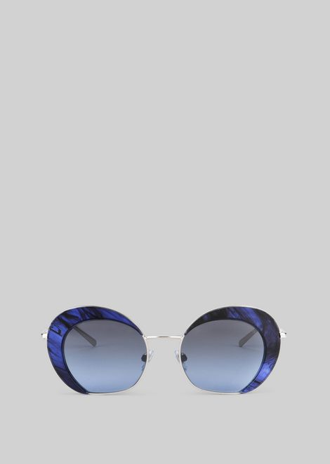 Sunglasses with degradé detail
