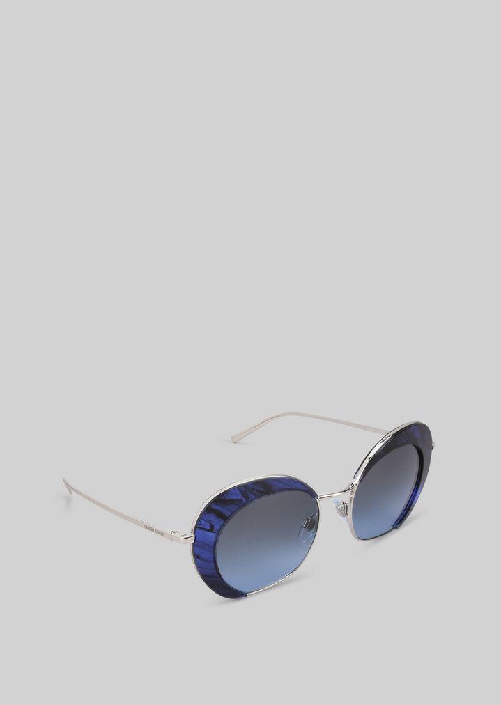 09e91d912b Gafas de sol con detalle degradado | Mujer | Giorgio Armani