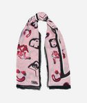 K/Signature Graffiti Scarf