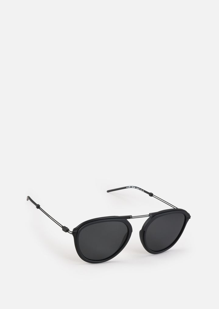 2480c6bbcc4 Metal sunglasses with coloured lenses