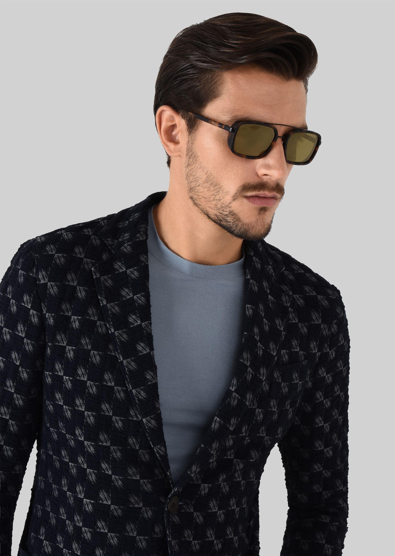 GIORGIO ARMANI Catwalk Sonnenbrille mit faltbaren Bügeln Sonnenbrille U a