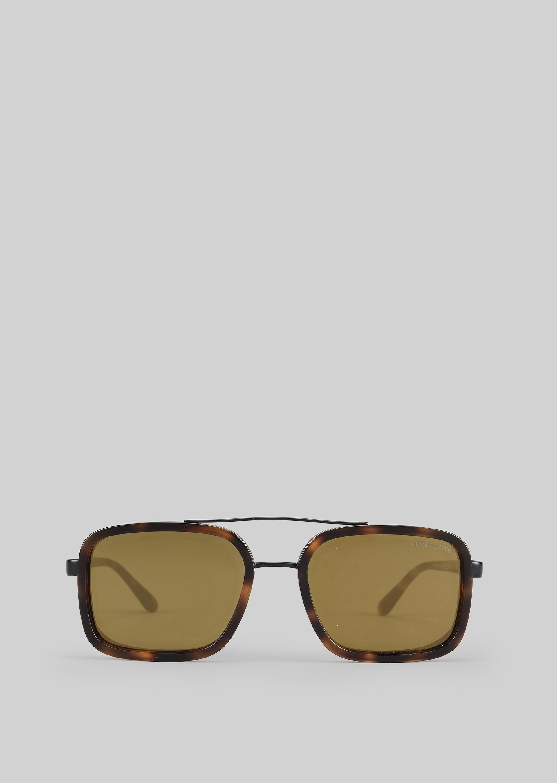GIORGIO ARMANI Catwalk Sonnenbrille mit faltbaren Bügeln Sonnenbrille U r