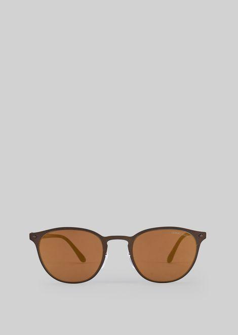 Sonnenbrille mit Metallfassung