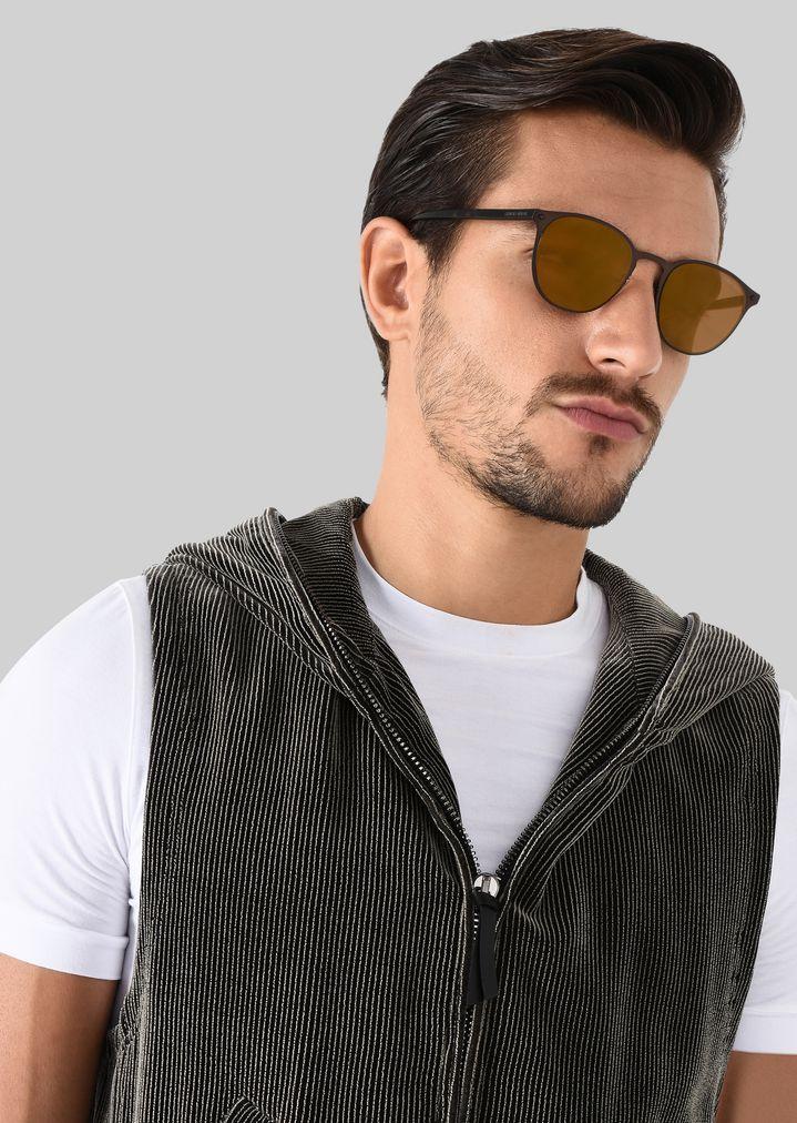 GIORGIO ARMANI Sonnenbrille mit Metallfassung Sonnenbrille Herren a
