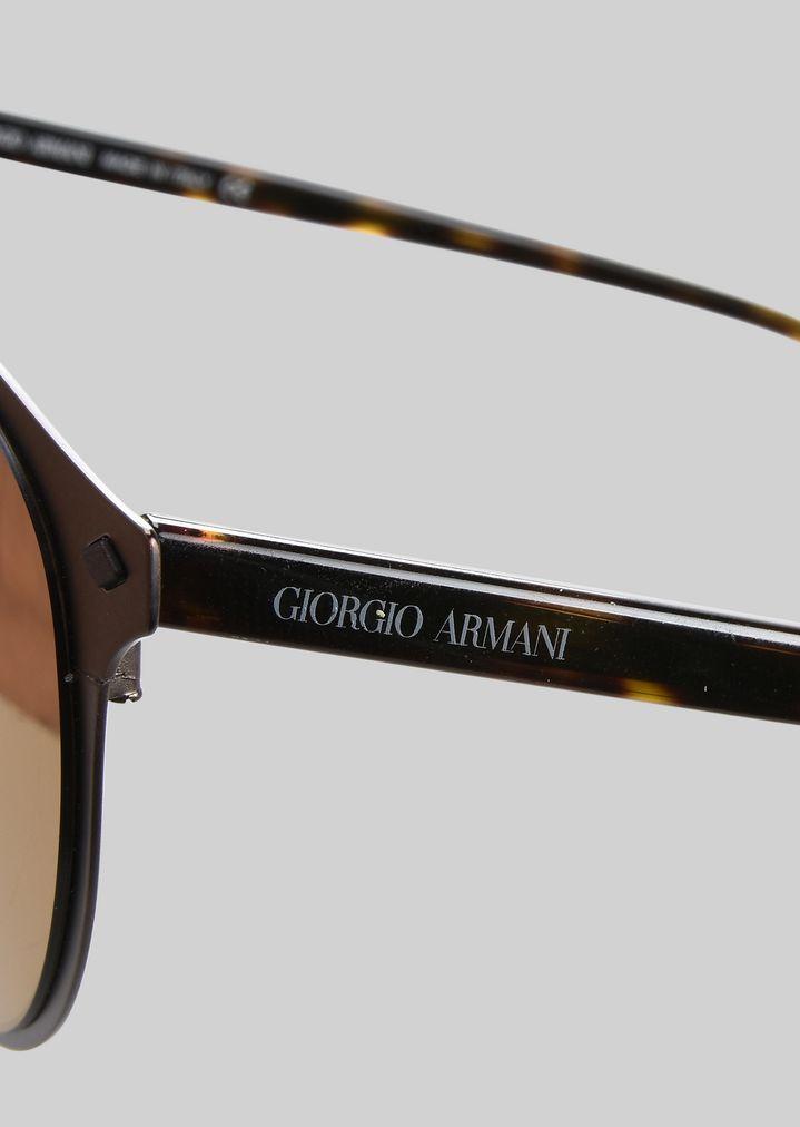 GIORGIO ARMANI Sonnenbrille mit Metallfassung Sonnenbrille Herren d
