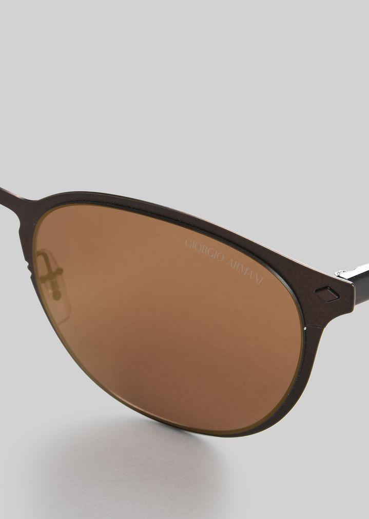 GIORGIO ARMANI Sonnenbrille mit Metallfassung Sonnenbrille Herren e
