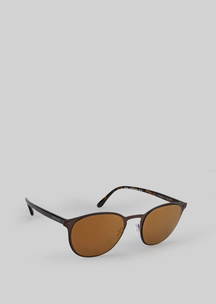 GIORGIO ARMANI Sonnenbrille mit Metallfassung Sonnenbrille Herren f