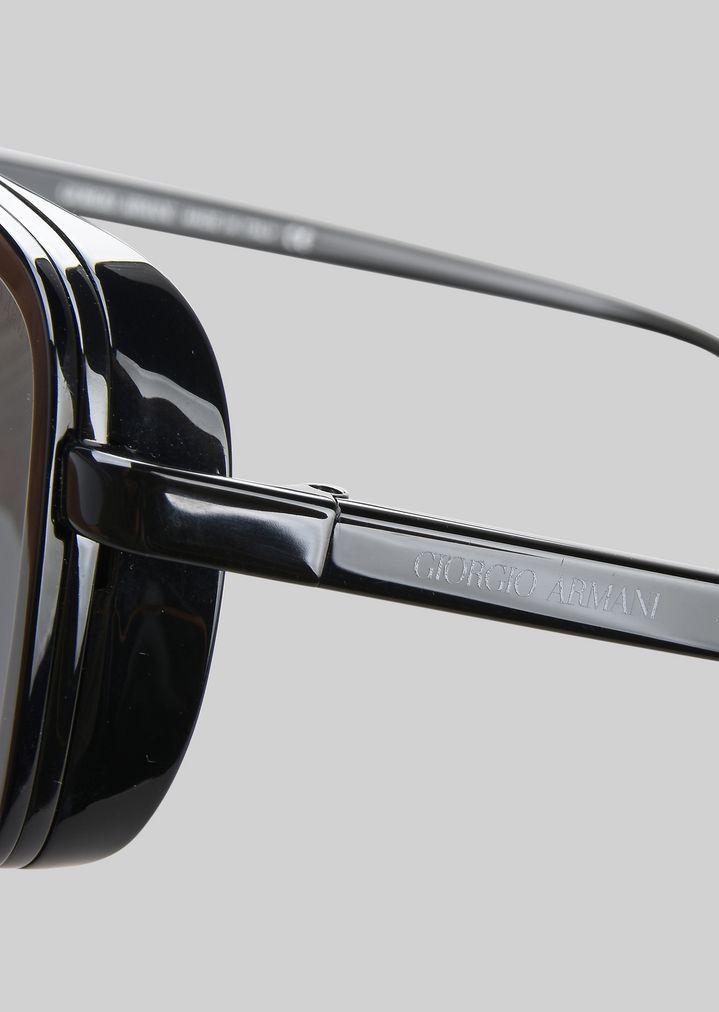 GIORGIO ARMANI Catwalk Sonnenbrille mit faltbaren Bügeln Sonnenbrille Herren d