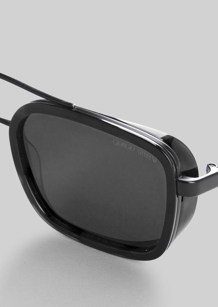 GIORGIO ARMANI Catwalk Sonnenbrille mit faltbaren Bügeln Sonnenbrille Herren e