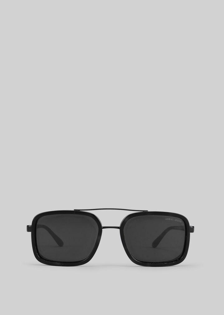 GIORGIO ARMANI Catwalk Sonnenbrille mit faltbaren Bügeln Sonnenbrille Herren r