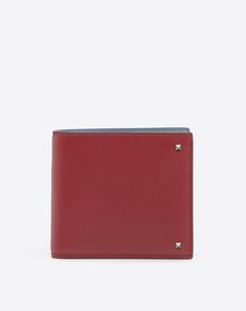VALENTINO GARAVANI UOMO COMPACT WALLETS U Rockstud Billfold Wallet f