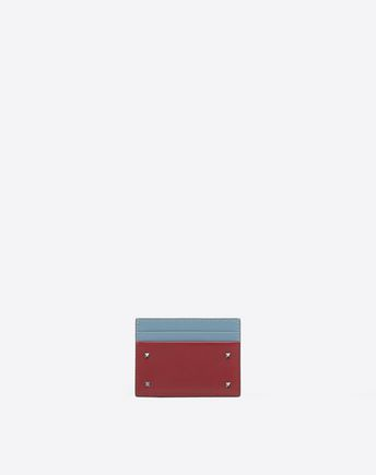 VALENTINO GARAVANI CARD CASE U Rockstud card holder f
