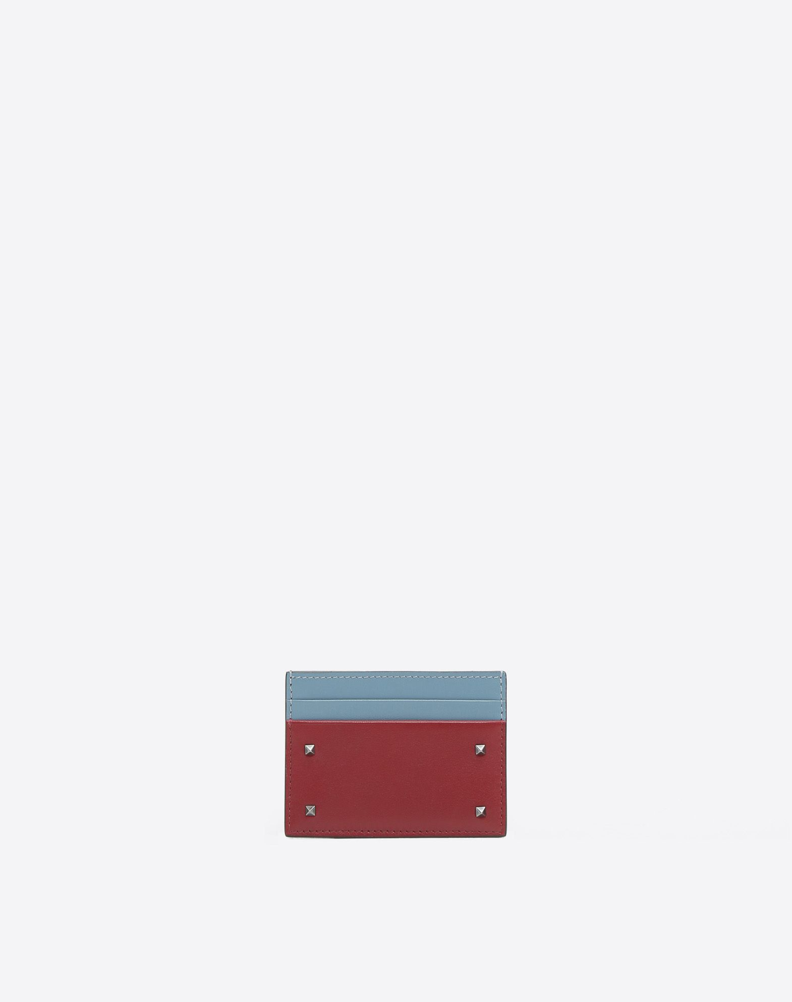 VALENTINO GARAVANI UOMO Rockstud Card Case COIN PURSES & CARD CASES U f