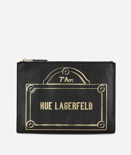 KARL LAGERFELD Rue Lagerfeld Pouch 12_f